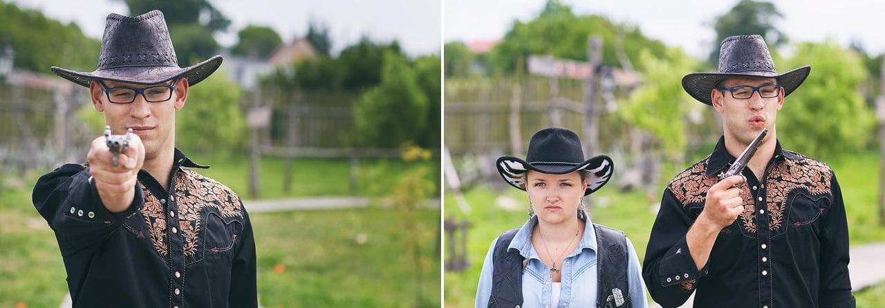 Jak powstawał western, czyli podziękowanie dla rodziców, na wesoło 00369 fotograf znin 1